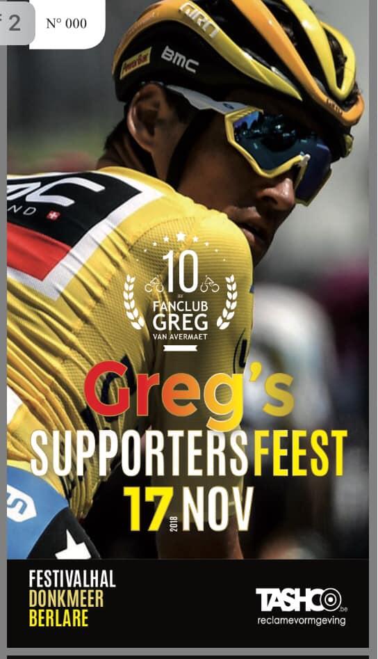 Gregs supportersfeest