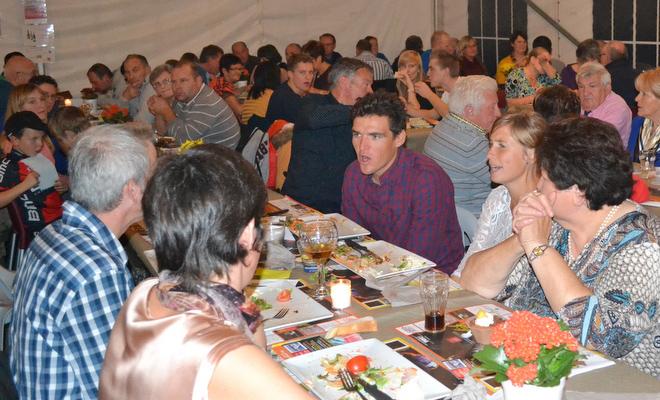 Fanbal voor kersverse Flandrien groot succes