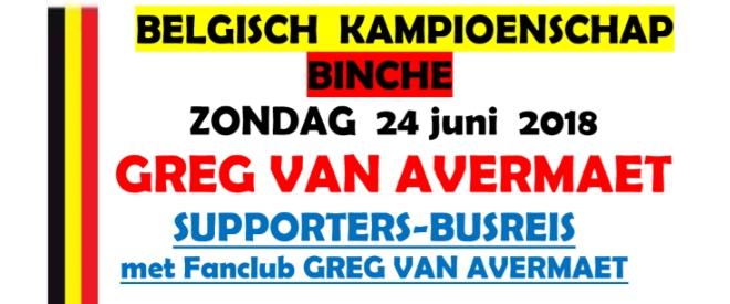 Busreis BK Binche 2018