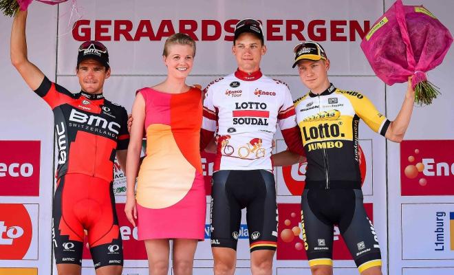 Tweede in Eneco Tour, ploegmaat wint slotrit