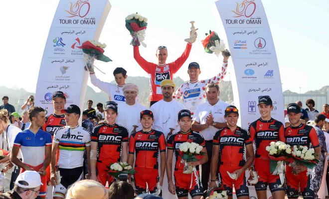 BMC wint ploegenklassement Oman