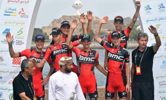 BMC wint het ploegenklassement in Oman