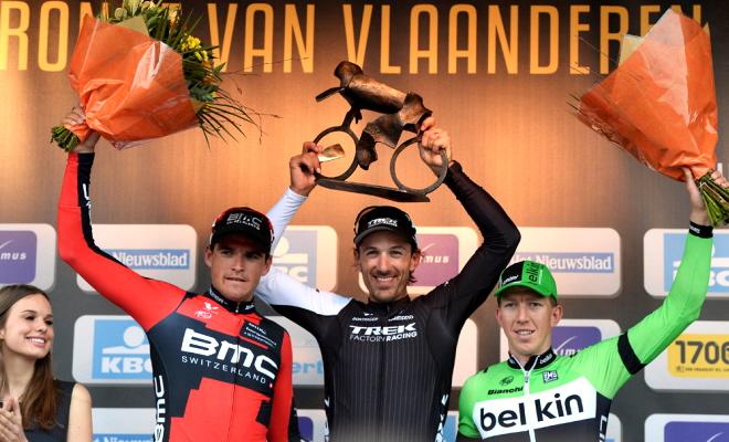 Enkel Cancellara blijft ijzersterke Greg voor in de Ronde