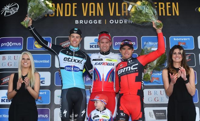 Opnieuw podium in de Ronde van Vlaanderen