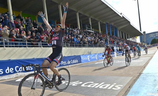 Ook derde in Roubaix