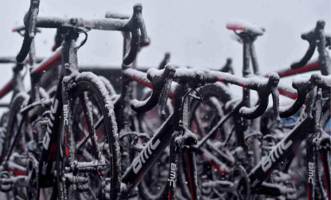 Winterse strijd op de Terminillo