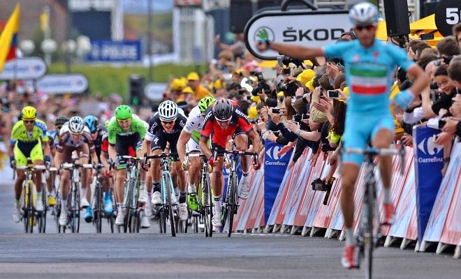 Ontsnapte Nibali boort Greg ritzege door de neus
