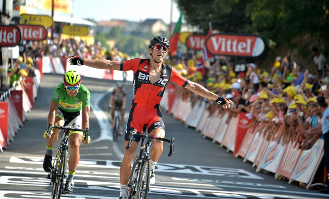 Greg wint Touretappe in Rodez!!!