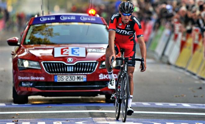 Lekke band verknalt sprint in Parijs-Tours