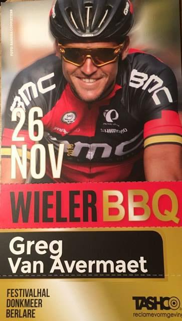 WielerBBQ 2016 (eetkaarten uitverkocht!)